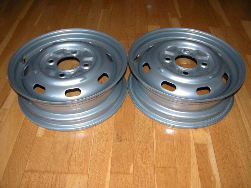 2 Llantas de acero/chapa, tipo original 4.5x15 Dscn5810