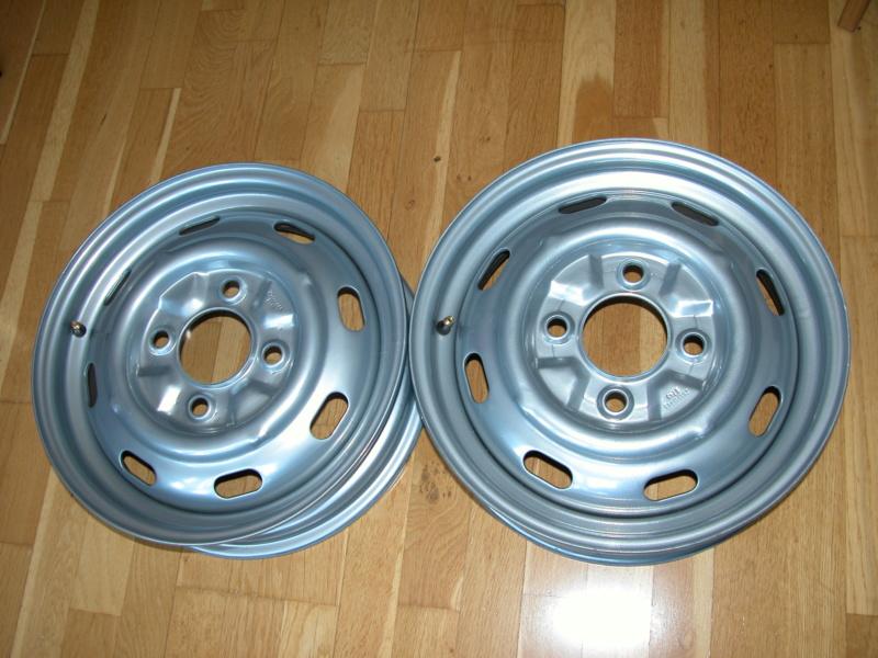 2 Llantas de acero/chapa, tipo original 4.5x15 Dscn5811