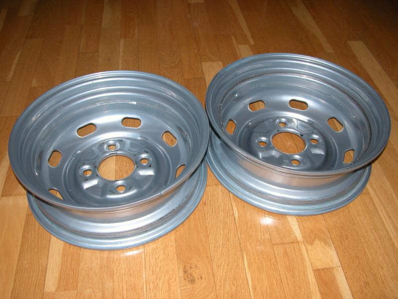 2 Llantas de acero/chapa, tipo original 4.5x15 Foto_a10