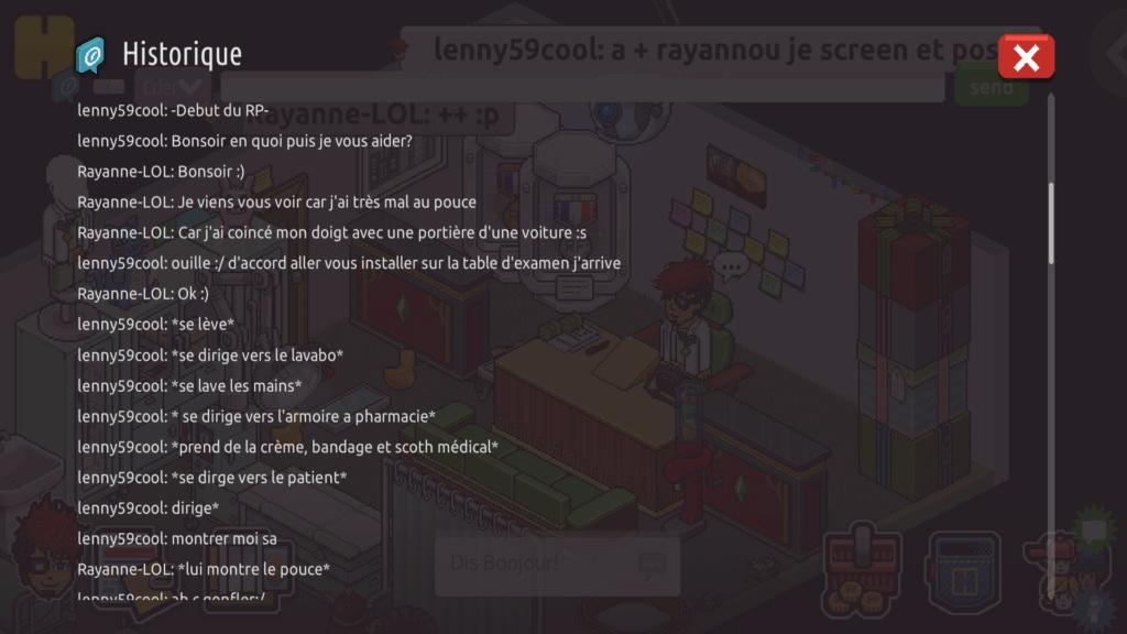 [C.H.U] Rapport d'actions RP de lenny59cool - Page 2 Screen95