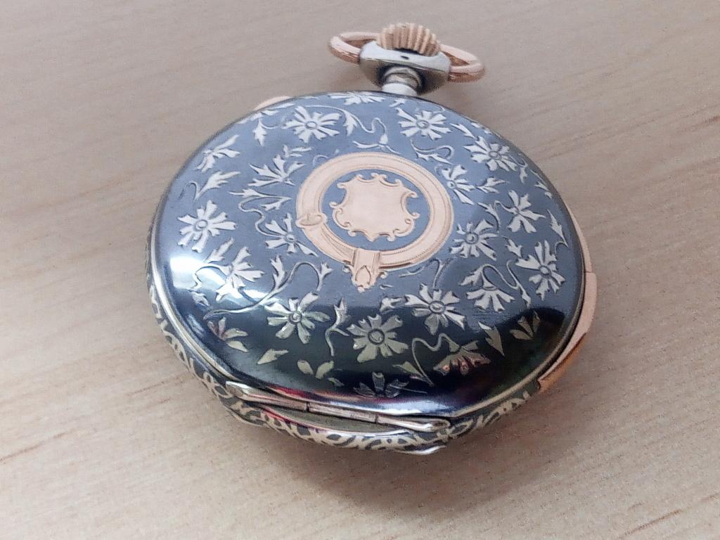 montre en argent niellé chronographe et à sonnerie minutes Img_2010