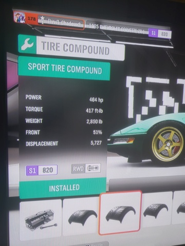 FH4 Time Attack | The Colossus - (500HP)  20191013