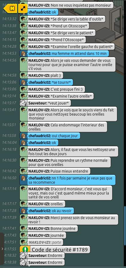 [C.H.U] Rapports d'actions R.P de NAKLOV-IZI Rppppp15