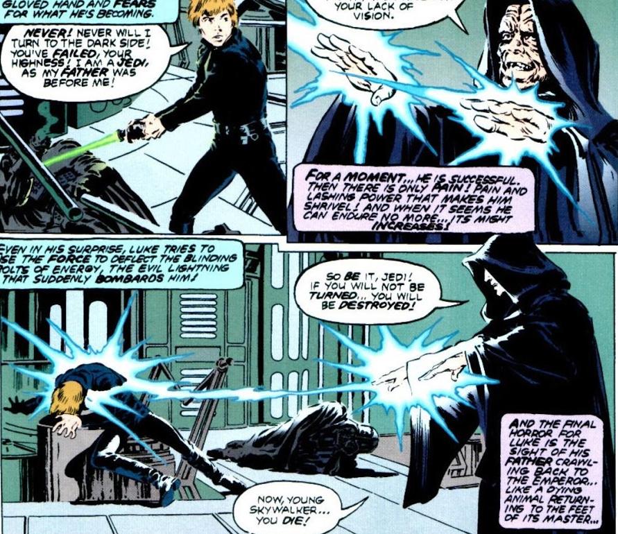 Darth Maul, Count Dooku, Darth Vader, Savage Opress and Galen Marek vs DE Darth Sidious  Screen11