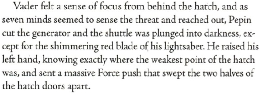 Does Darth Vader have the Shatterpoint ability? Screen17