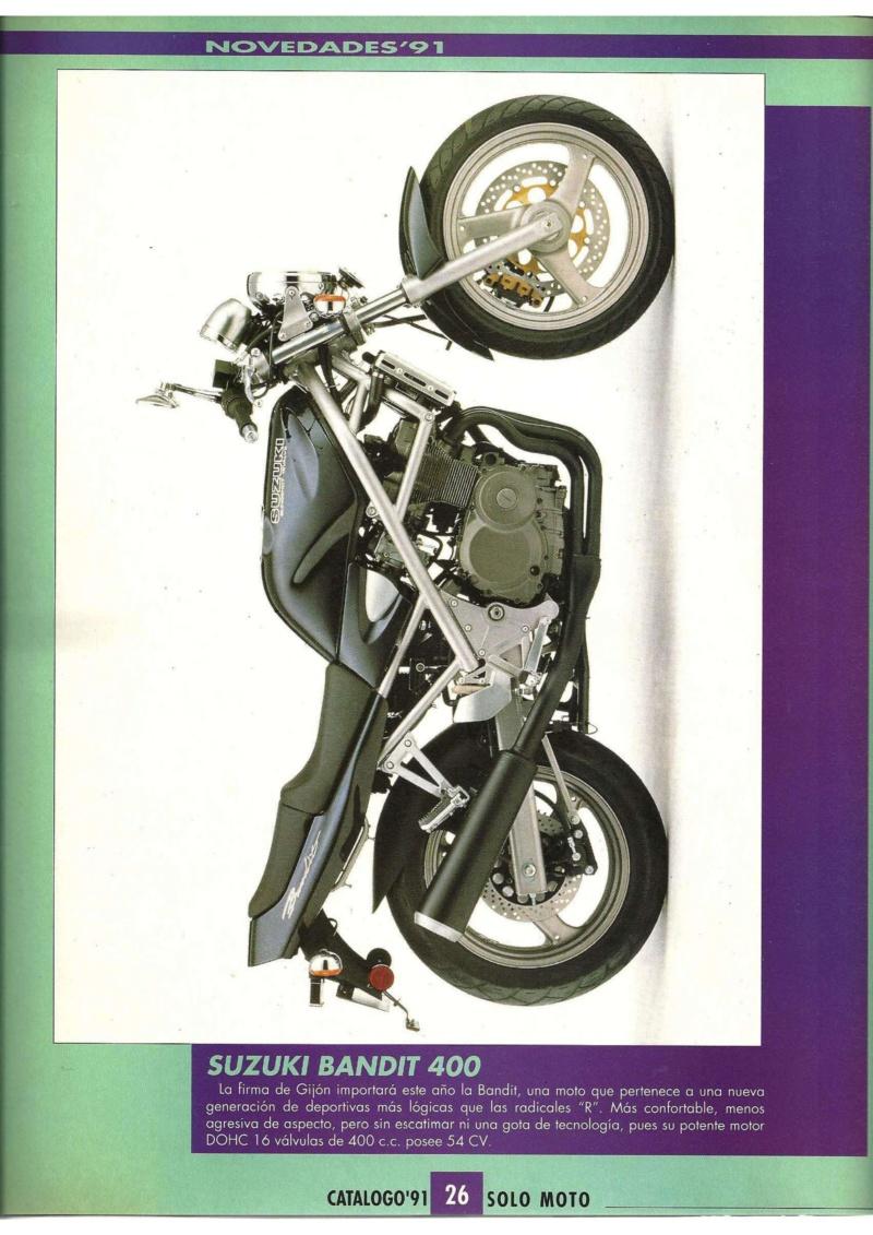 Bandit 400 año 1989 000110