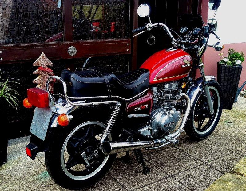 Kaufberatung Honda CM 400 T  24934610
