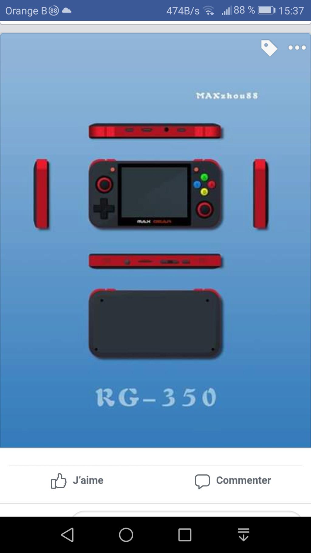 RG-350 'Nouvelle console Screen10