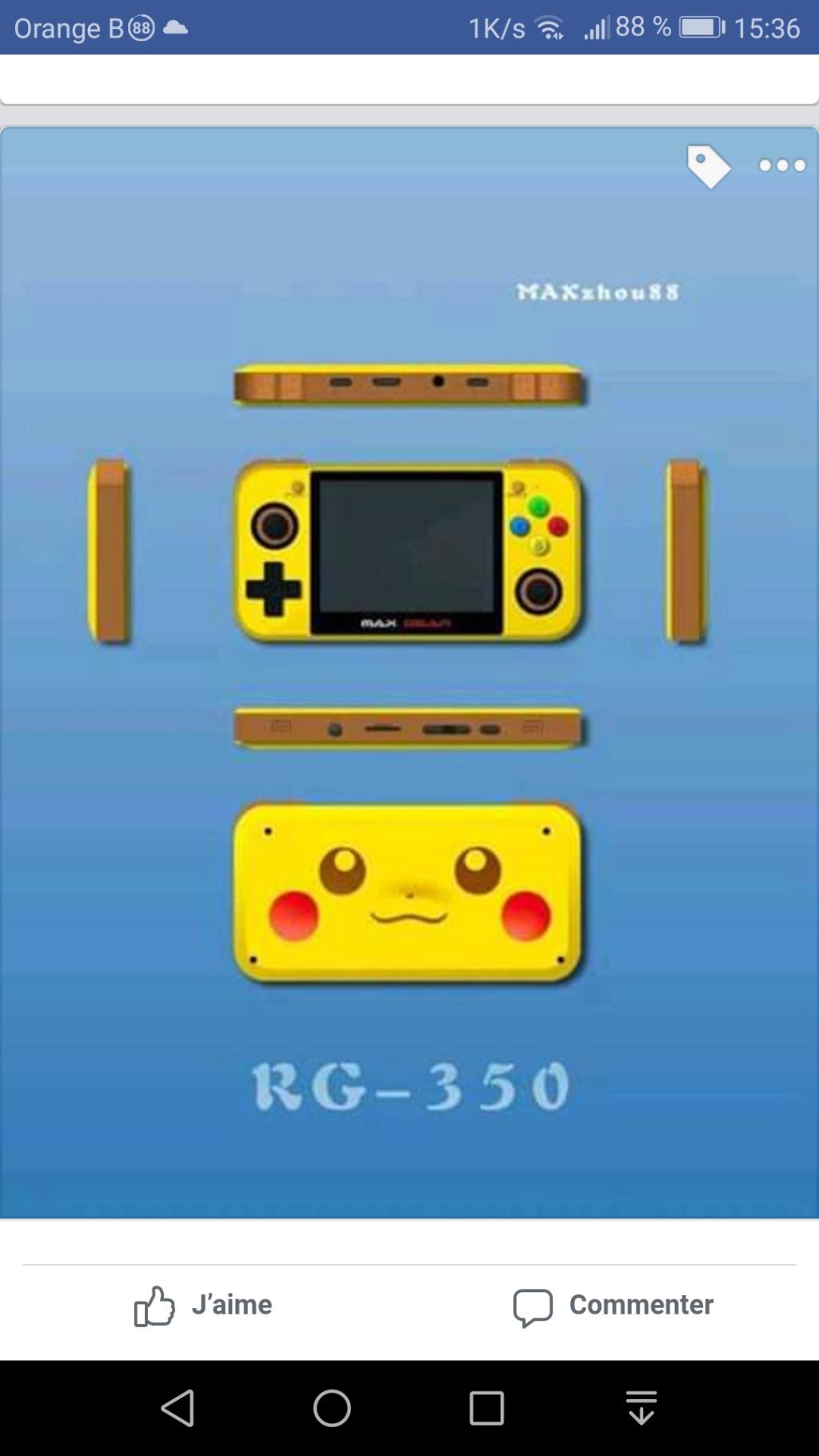 RG-350 'Nouvelle console Screen12