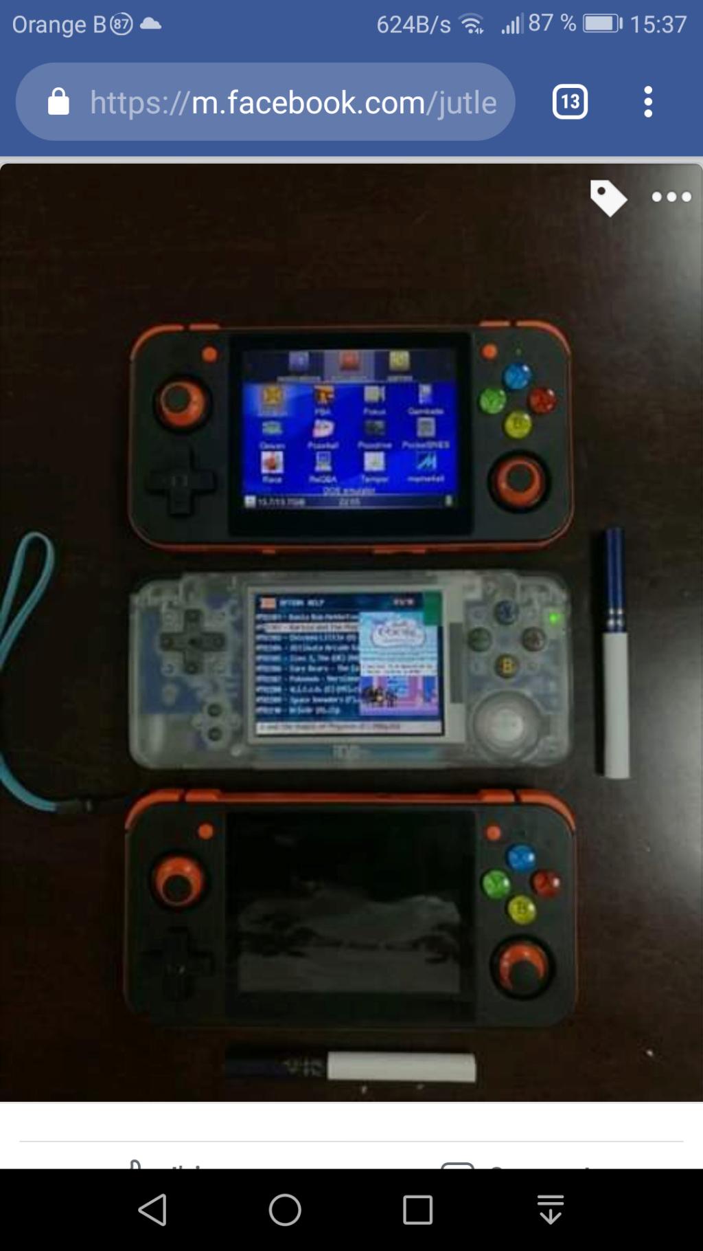 RG-350 'Nouvelle console Screen13
