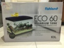 FISHLAND AQUARIUM ECO 60 TANK KIT LED LIGHTING FILTER INTERNAL Img_1114