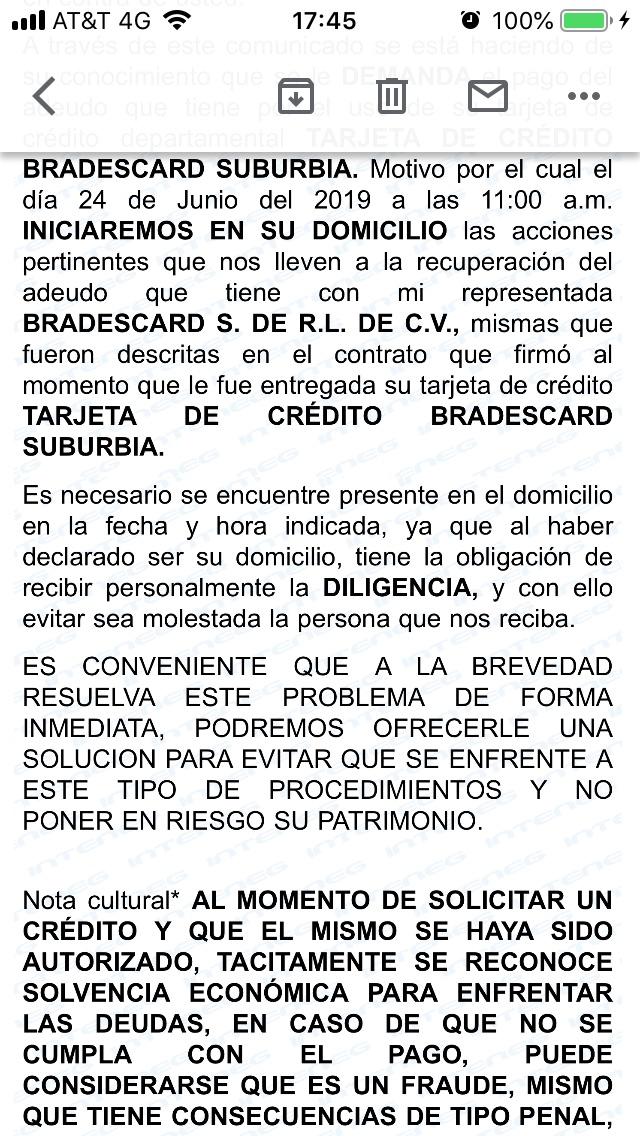 NOTIFICACIÓN DE DEMANDA DE PAGO   621d3f10