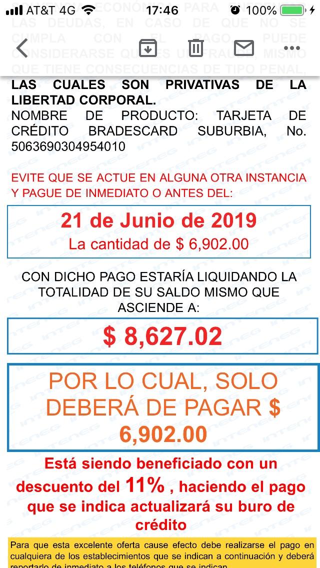 NOTIFICACIÓN DE DEMANDA DE PAGO   D08b9c10