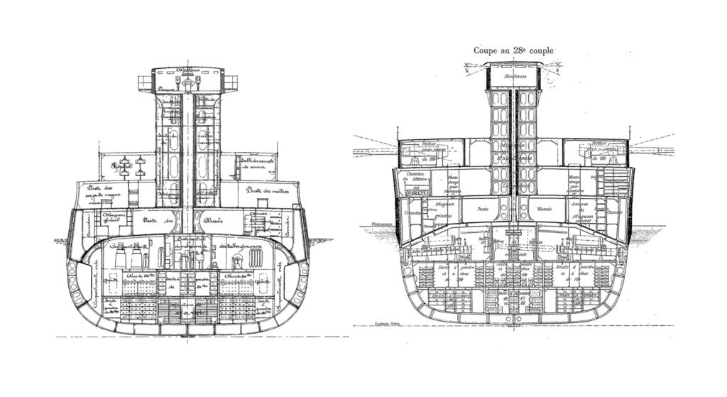 Le 25 septembre 1911 le cuirassé Liberté explosait à Toulon - Page 3 Coupes10