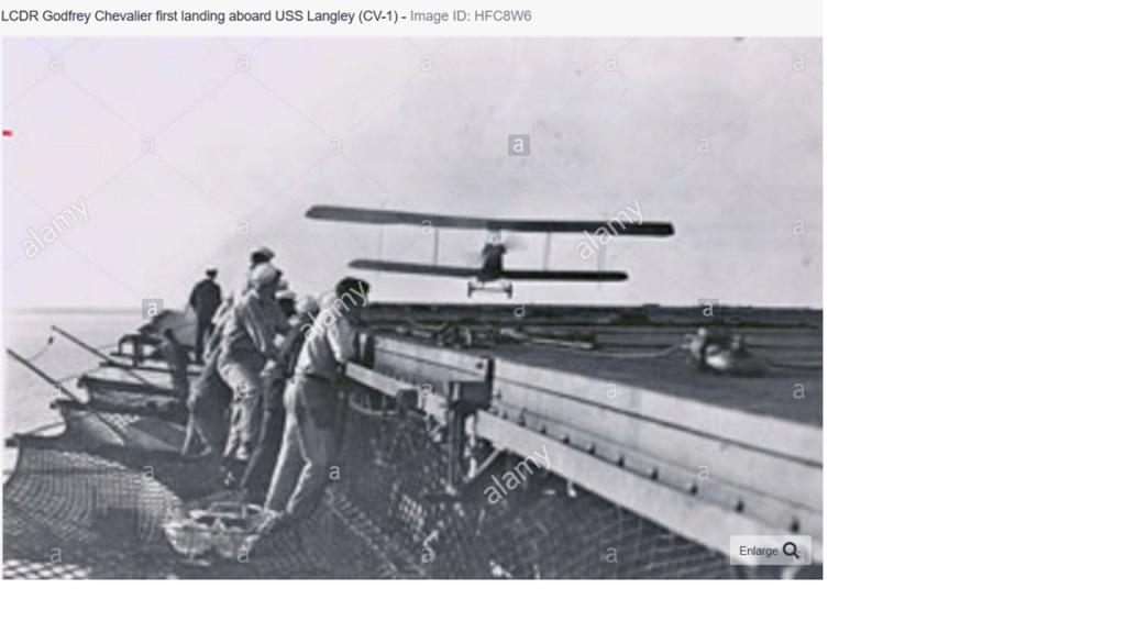Premier appontage sur un porte avions par le LV Paul Teste Hook_110