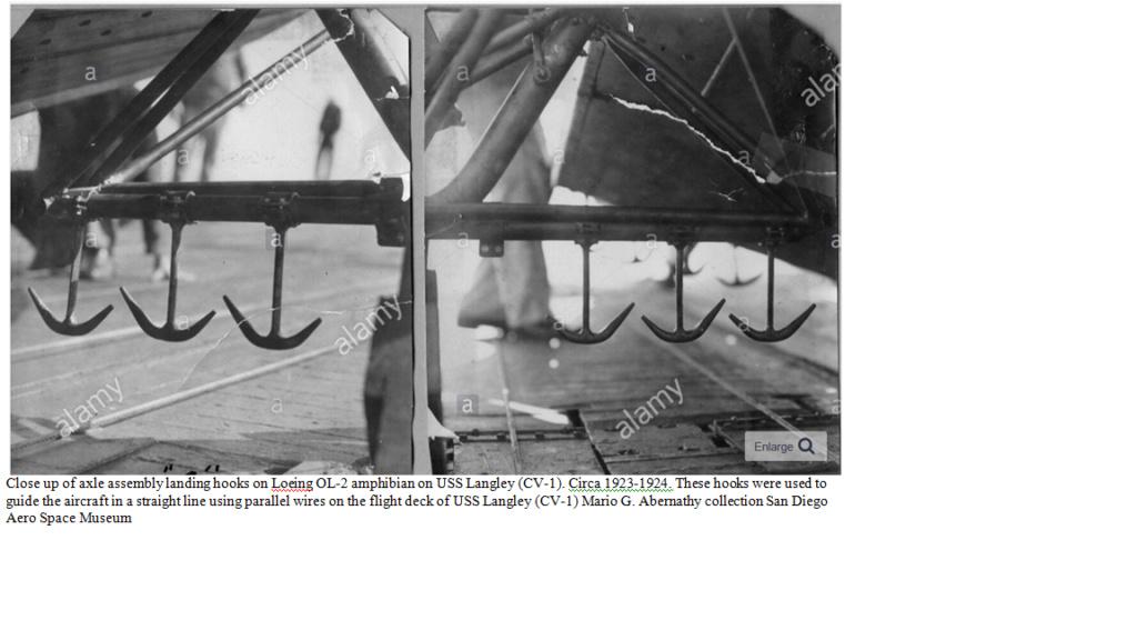 Premier appontage sur un porte avions par le LV Paul Teste Hook_210