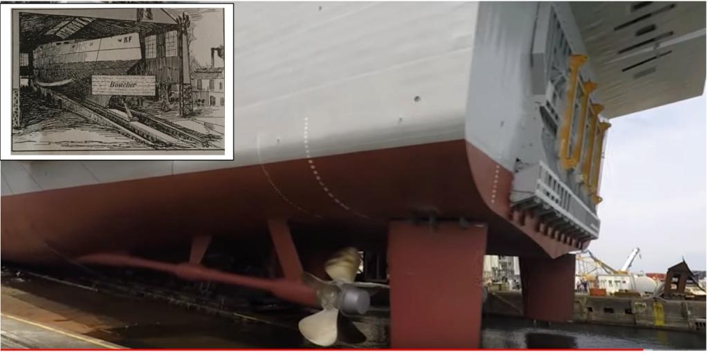 La mise à l'eau des grands navires  Lanc_110