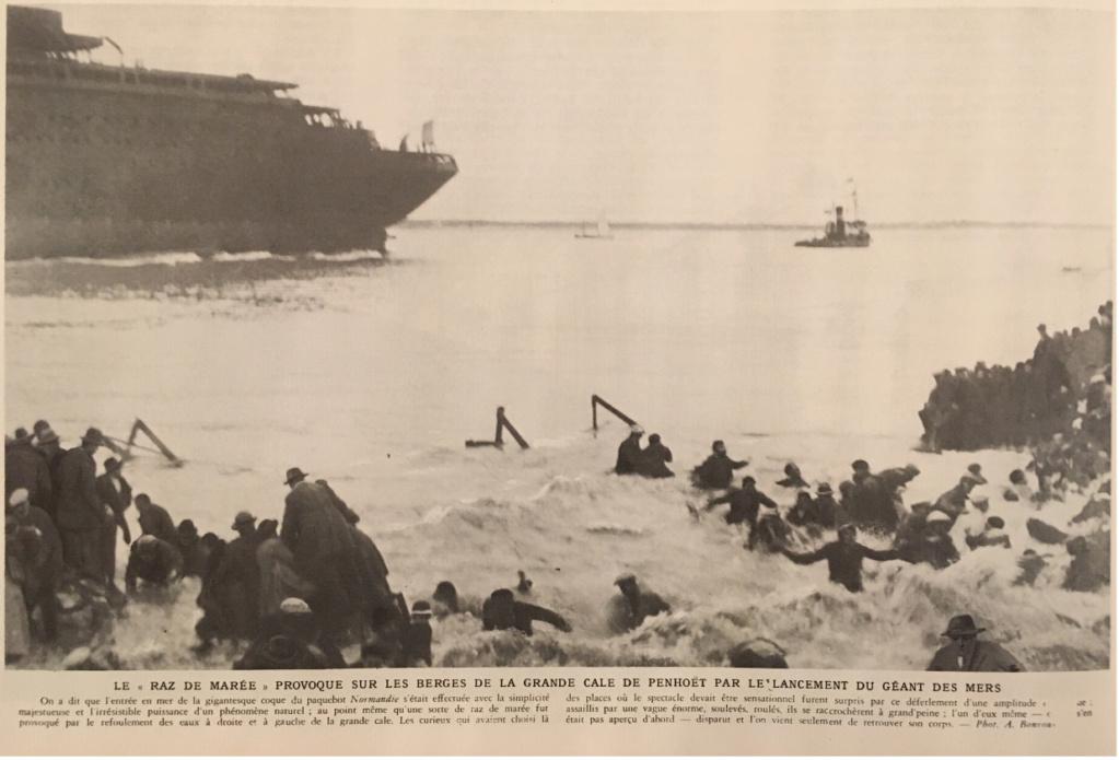 La mise à l'eau des grands navires  N110
