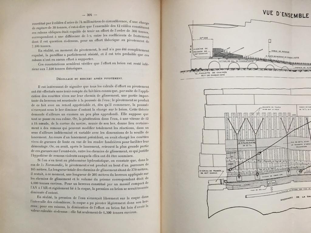 La mise à l'eau des grands navires  N910