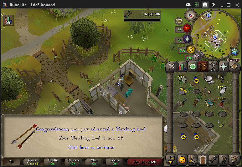 Fib's Milestones & End Goals (99 COOKING/1800 TOTAL LEVEL)!  - Page 8 2020-012