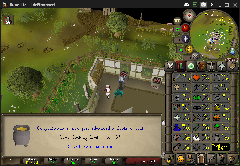 Fib's Milestones & End Goals (99 COOKING/1800 TOTAL LEVEL)!  - Page 8 2020-013