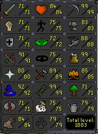 Fib's Milestones & End Goals [Halfway To Barbarian Rod & 89 Crafting!] 79hunt13