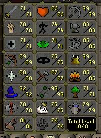 Fib's Milestones & End Goals (600 Barrows Chests!!) 92mage10