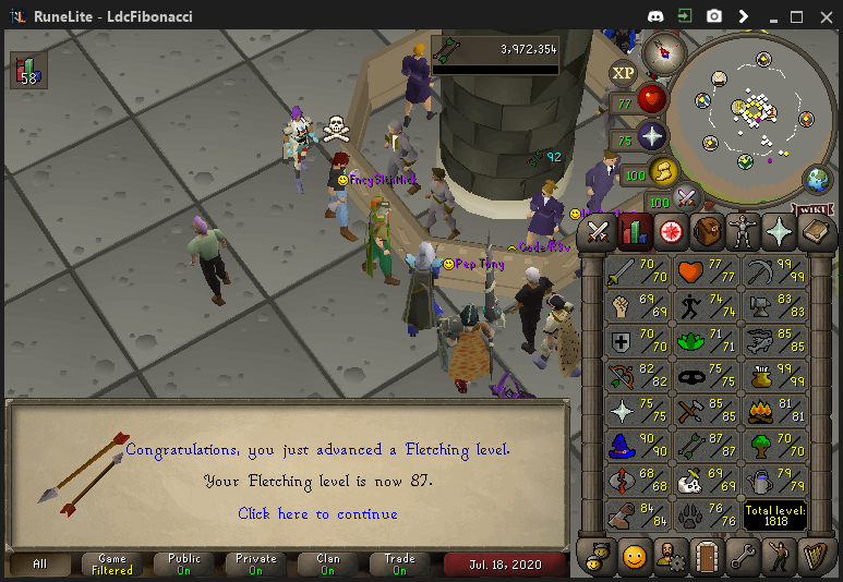 Fib's Milestones & End Goals (94 FLETCHING)! - Page 10 Fletch12