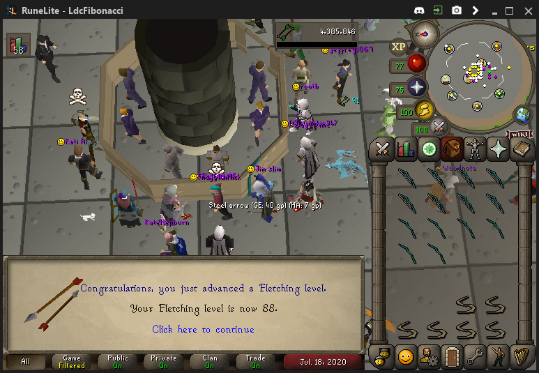 Fib's Milestones & End Goals (94 FLETCHING)! - Page 10 Fletch13