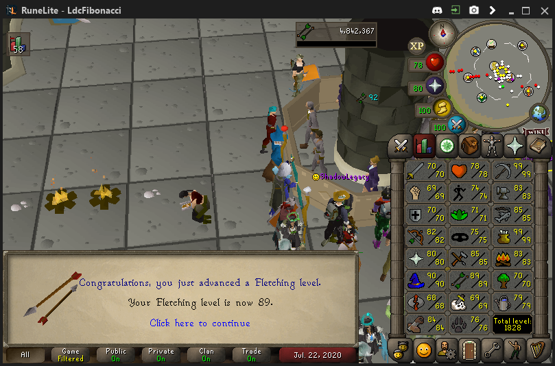 Fib's Milestones & End Goals (94 FLETCHING)! - Page 10 Fletch14