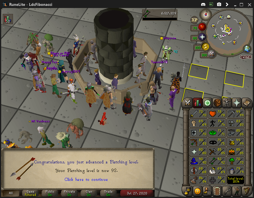 Fib's Milestones & End Goals (94 FLETCHING)! - Page 10 Fletch17