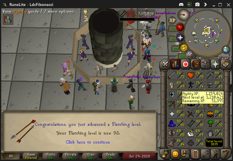 Fib's Milestones & End Goals (94 FLETCHING)! - Page 10 Fletch18