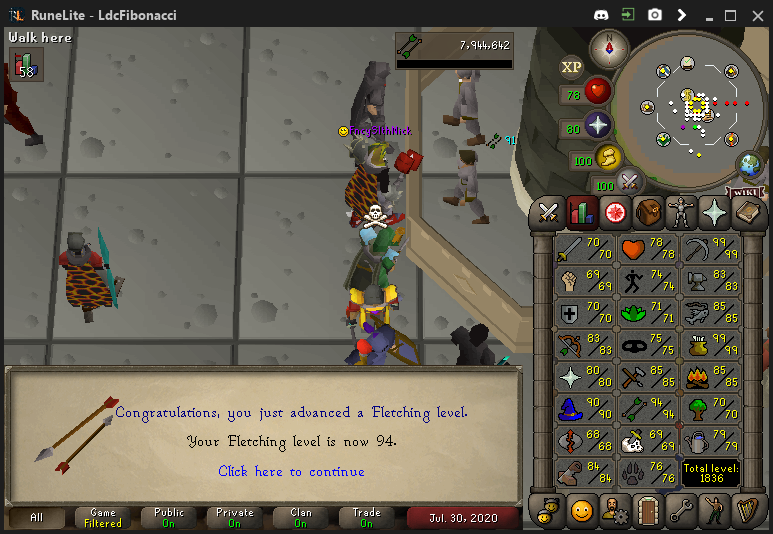 Fib's Milestones & End Goals (94 FLETCHING)! - Page 10 Fletch19