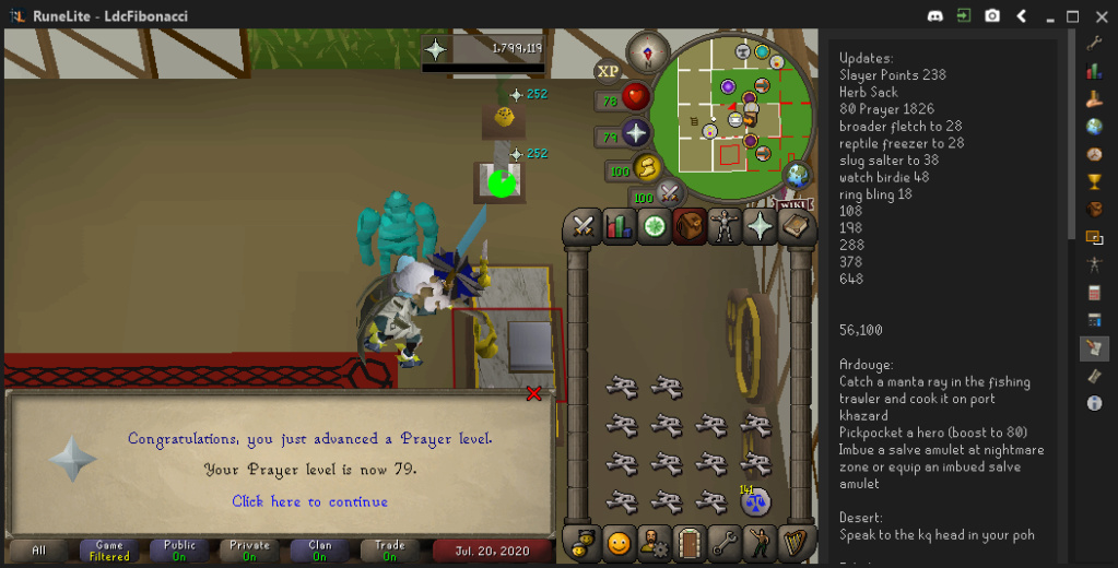 Fib's Milestones & End Goals (94 FLETCHING)! - Page 10 Prayer13