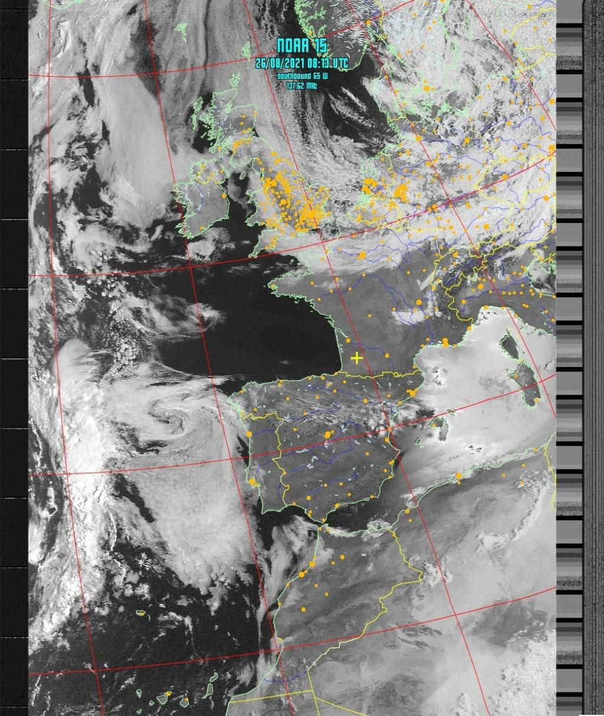 Satellite NOAA 15 Noaa-110
