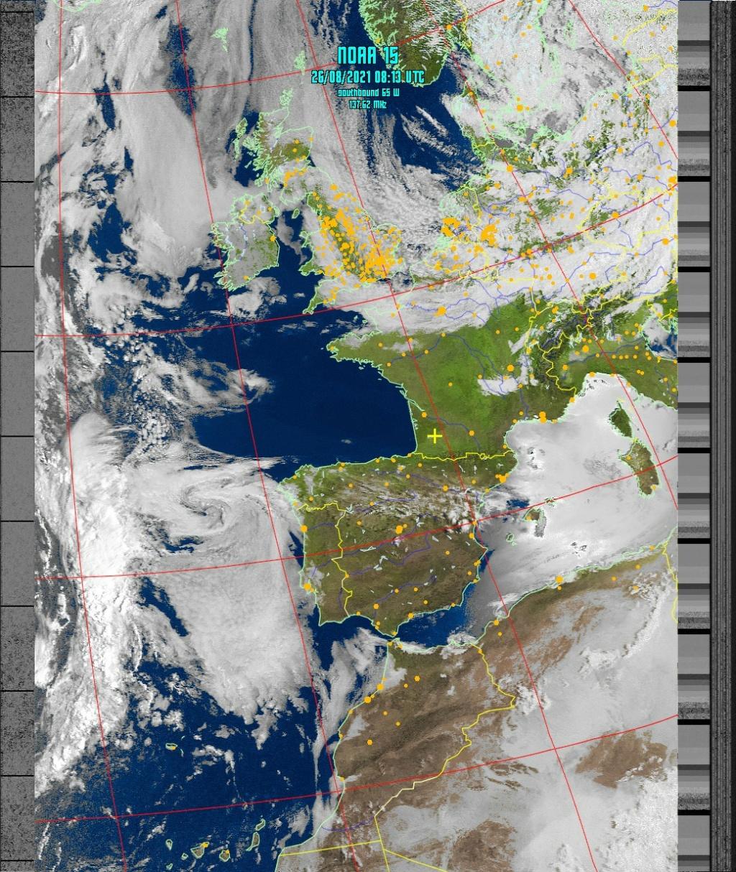 Satellite NOAA 15 Noaa-111