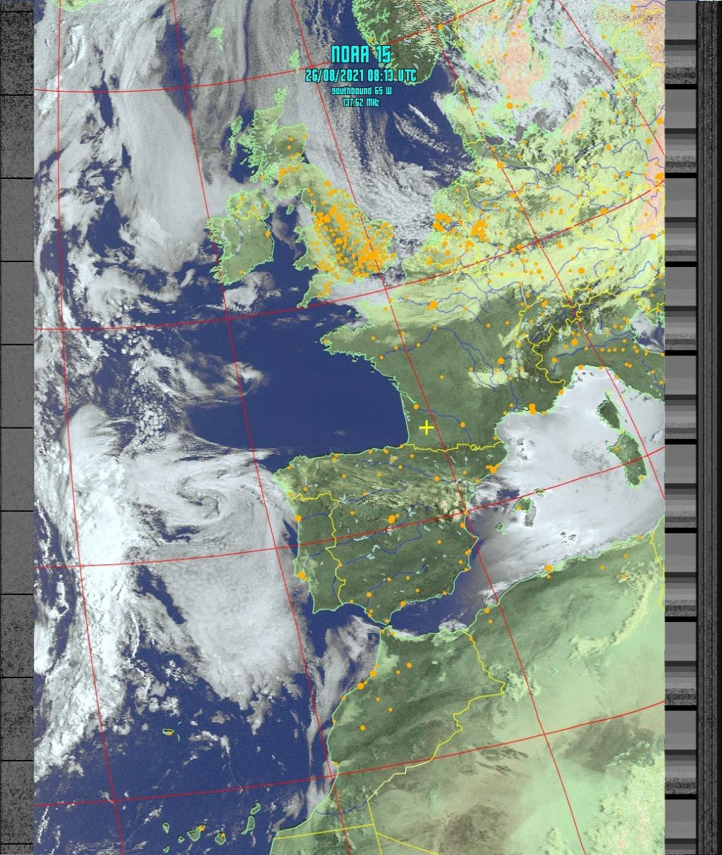 Satellite NOAA 15 Noaa-112