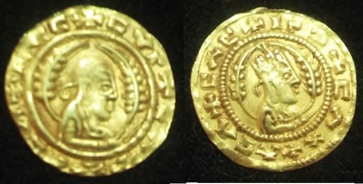 لأي عهد تعود هذي العملة الذهبية؟ 518c6710