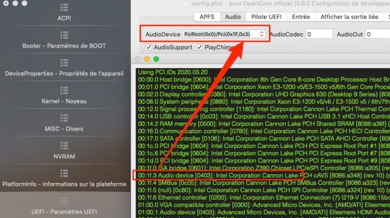 MacOS Big Sur Problèmes d'utilisation - Page 2 Audiod10