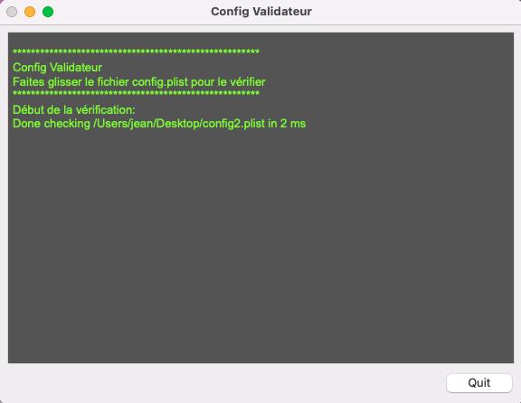 Config Validateur Config10