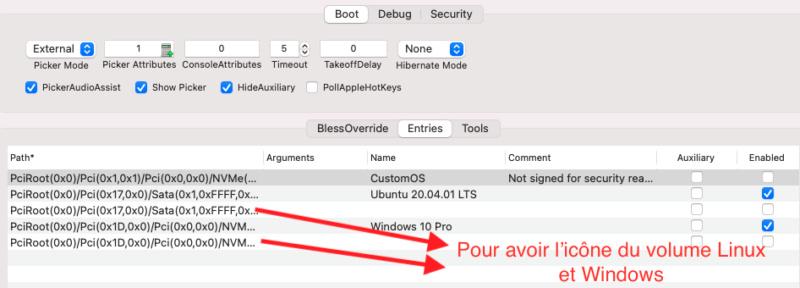 Triple boot Big Sur-Linux-Windows 10 sur un disque Entrie11