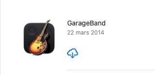 Résolu-Garage Band 10.3.5 pour Catalina Garage10