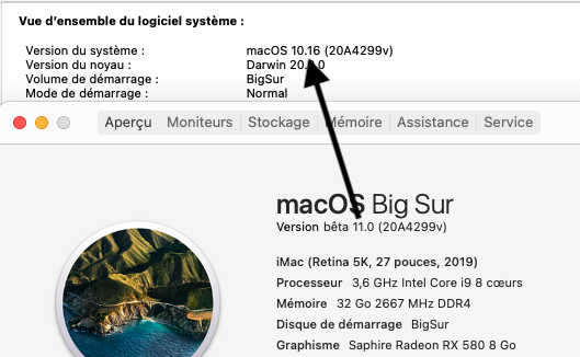 MacOS Big Sur Problèmes d'utilisation Inform10