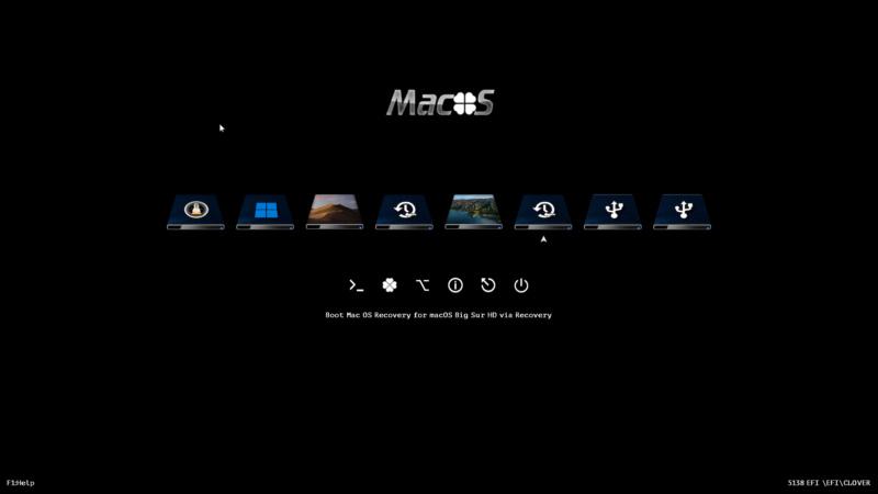 Theme macOS Macos11
