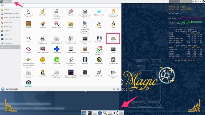 Parted-Magic-Clover-OS X Ninter10