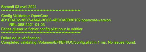 erreur dans config,plist Rel-0610