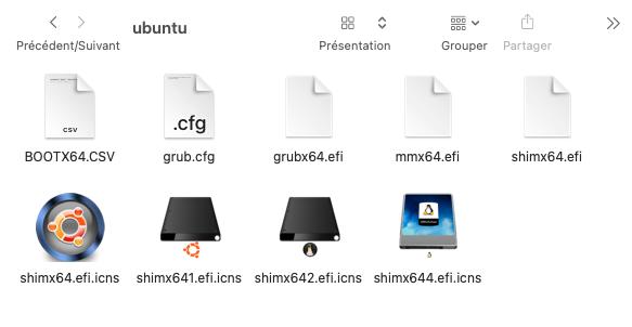 Triple boot Big Sur-Linux-Windows 10 sur un disque Shimx611
