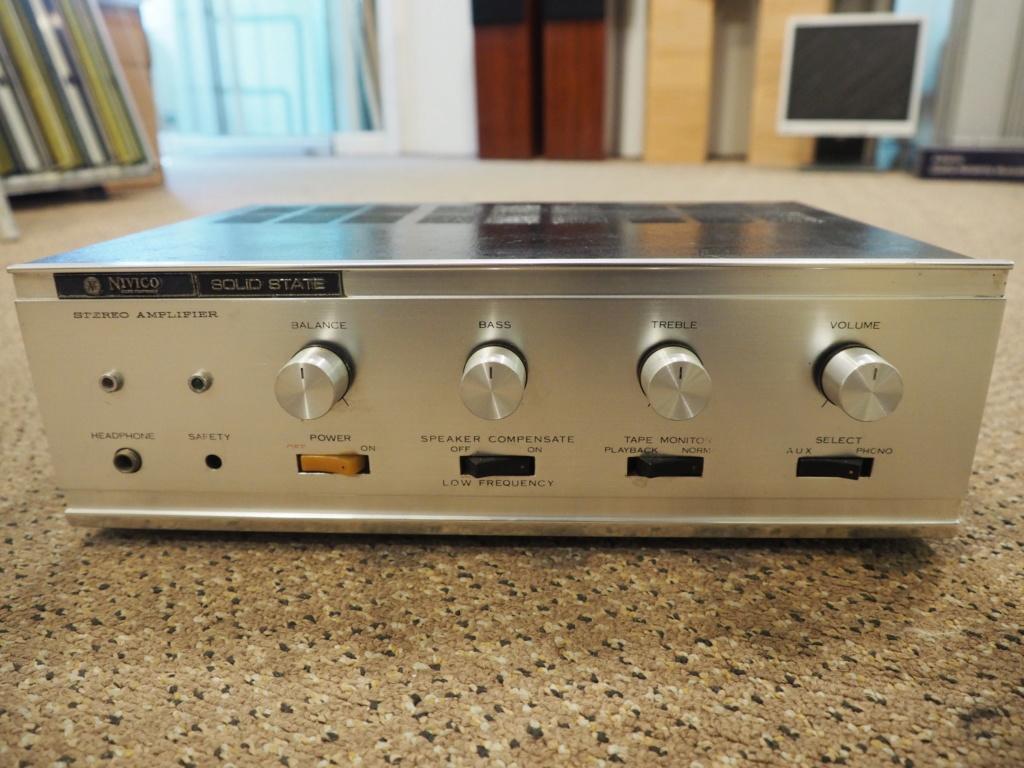 Nivico 5007 Vintage amplifier(JVC) P1010413