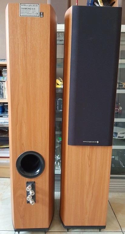 WHARFEDALE DIAMOND 9.5 floorstanding speakers  Speake10