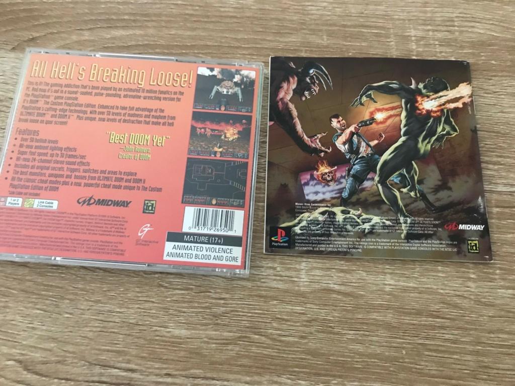 Vends 2 jeux PS1 US D410